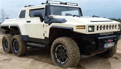 Bureko-6x6 Pickup - Czech Hummer based on Land Rover