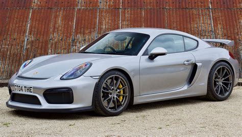 2016 PORSCHE CAYMAN GT4 - SOLD at The Classic Motor Hub