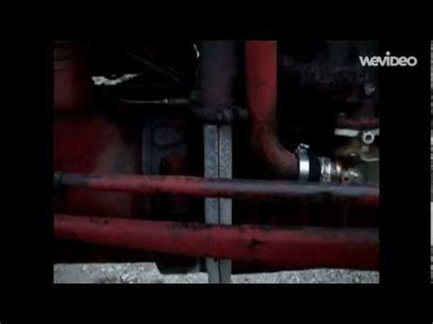 Replacing The Exhaust Manifold Gasket On A Ford 8N Tractor