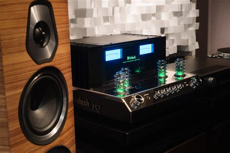 New From McIntosh – MA352 Integrated Amplifier – The Sound