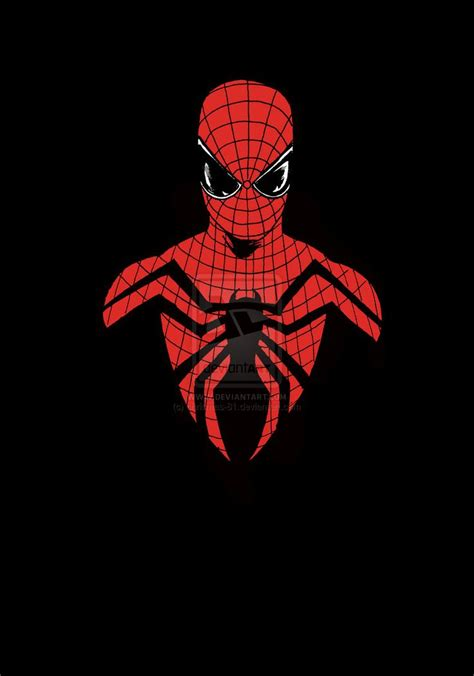Black-Background-Spiderman-For-iPhone • iOS Mode