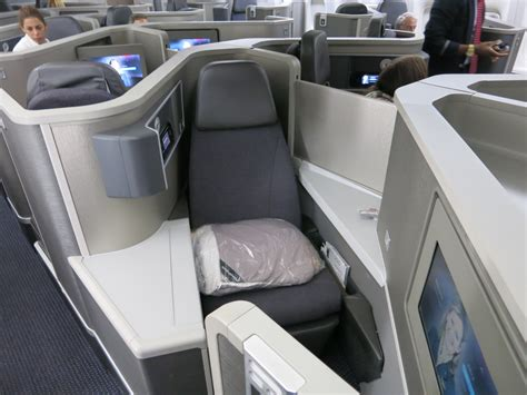 Review: American 777-200 Business Class Seat