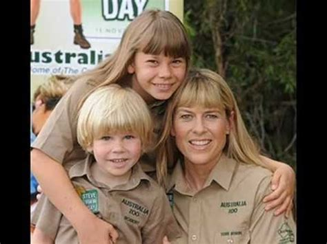 Terri Bindi & Robert Irwin Steve Irwin Day - YouTube